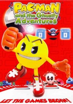 Pac-Man and the Ghostly Adventures: Let the Games Begin! (DVD)