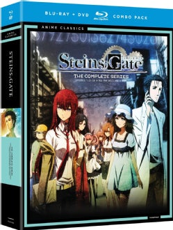 Steinsgate: Complete Series (Blu-ray/DVD)
