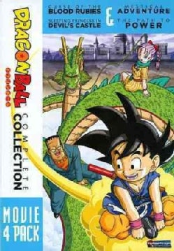 Dragon Ball: 4 Movie Pack (DVD)