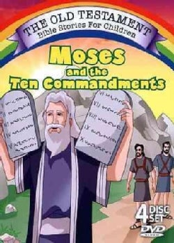 Moses and the Ten Commandments (DVD)