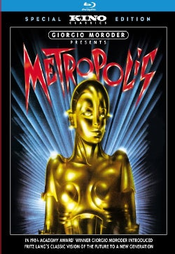 Giorgio Moroder Presents Metropolis (Blu-ray Disc)