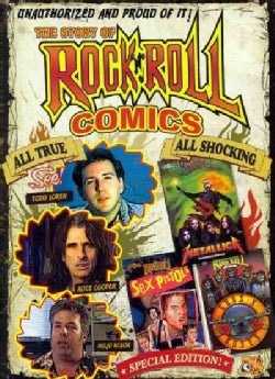 The Story of Rock N Roll Comics (DVD)