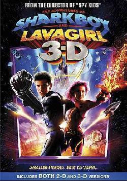 The Adventures Of Sharkboy and Lavagirl - 3D (DVD)