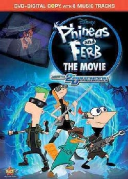 Phineas And Ferb The Movie: Across The Second Dimension (DVD)