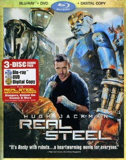 Real Steel (Blu-ray/DVD)