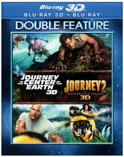 Journey to The Center of The Earth/Journey 2: The Mysterious Island (Blu-ray Disc)