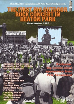 The First Big Outdoor Rock Concert In Heaton Park Manchester 1985 (DVD)