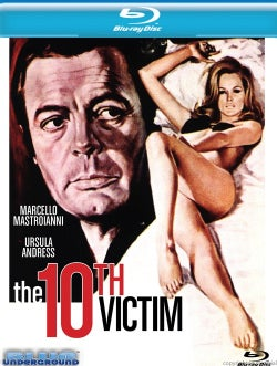 The 10Th Victim (Blu-ray Disc)