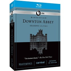 Masterpiece Classic: Downton Abbey: Seasons 1, 2, 3 & 4 (Blu-ray Disc)