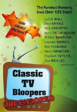 Classic TV Bloopers: Uncensored (DVD)