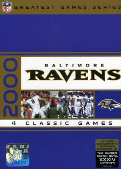 NFL Greatest Games Series: Baltimore Ravens 2000 Playoffs (DVD)