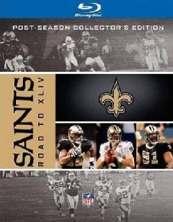 NFL Road To Super Bowl XLIV New Orleans Saints (Blu-ray Disc)