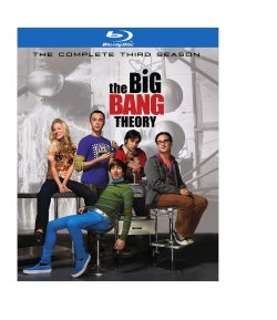 The Big Bang Theory: The Complete Third Season (Blu-ray Disc)
