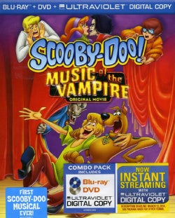 Scooby-Doo! Music Of The Vampire (Blu-ray/DVD)