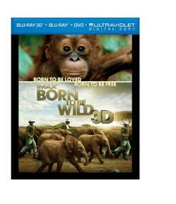 Born To Be Wild 3D (IMAX) (Blu-ray/DVD)