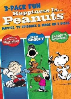 Happiness Is Peanuts: 3 Pack of Fun (DVD)