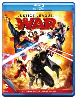 Justice League: War (Blu-ray/DVD)