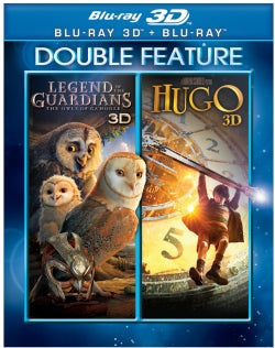 Legend of The Guardians: The Owls Of Ga'Hoole/Hugo 3D (Blu-ray Disc)