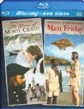 The Count Of Monte Cristo/Man Friday (Blu-ray/DVD)