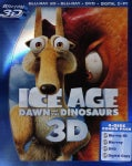 Ice Age 3: Dawn Of The Dinosaurs 3D (Blu-ray/DVD)