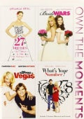 27 Dresses/Bride Wars/What Happens In Vegas/What's Your Number Quadruple (DVD)