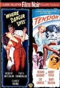 Where Danger Lives/Tension (DVD)