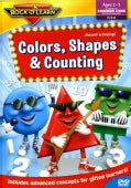 Rock 'N Learn: Colors, Shapes, Counting (DVD)