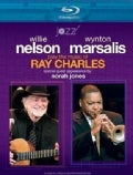 An Evening with Willie Nelson, Wynton Marsalis, and Norah Jones: The Music ofRay Charles (Blu-ray Disc)