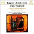 Christopher Robinson - Tavener:Song for Athene/Svyati