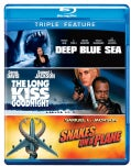 Deep Blue Sea/The Long Kiss Goodnight/Snakes On A Plane (Blu-ray Disc)