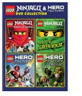 LEGO: Ninjago And Hero Factory DVD Collection (DVD)