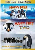 Happy Feet/Happy Feet 2/March Of The Penguins