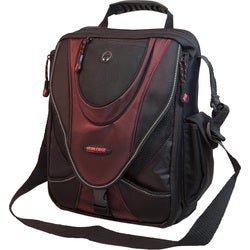 Mobile Edge Mini Black/ Red Messenger Bag