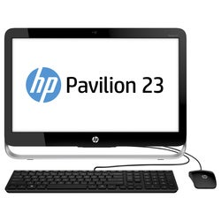 "HP Pavilion 23-g010 All-in-One Computer 23"" E2 3800 4GB 500GB AIO Win8"