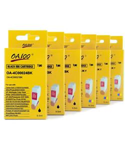 Ink Cartridge Combo for Canon BCI-24 (Pack of 6)