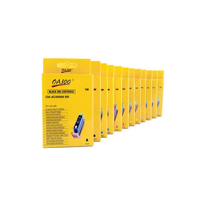 Ink Cartridge Combo for Canon BCI-6 (Pack of 12)