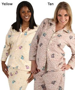 Women's Cats Kittens Print Pajamas Set