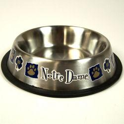 Notre Dame Fighting Irish Stainless Steel Pet Bowl