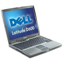 Dell Latitude D600 Pentium Laptop (Refurbished)