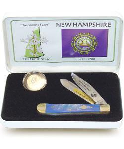 US Mint State Quarter Knife/ Coin Set