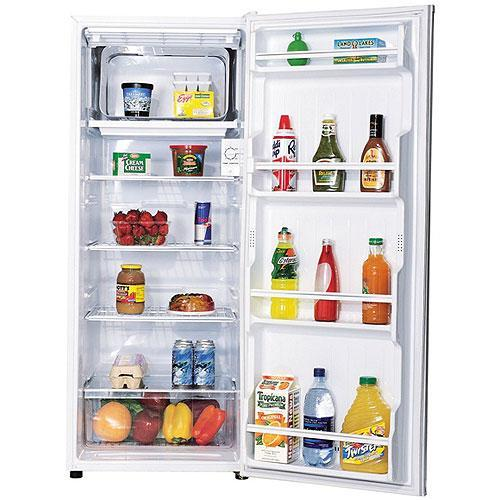 sanyo 9 5 cubic foot apartment size refrigerator