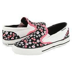 Converse Skidgrip Flowers & Cherries Black/White/Pink