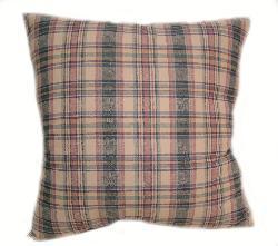 Shantung 16-inch Multi Plaid Throw Pillows (Set of 2)