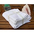 100 Cotton Hospitality Bath Towels - Set of 12