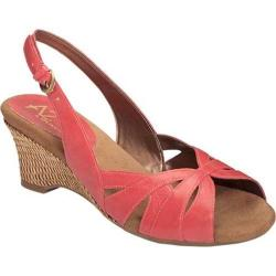 Women's A2 by Aerosoles Zenchilada Coral Faux Leather