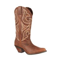 Women's Durango Boot DRD0102 13in Crush Jealousy Wide Calf Boot Brown Leather