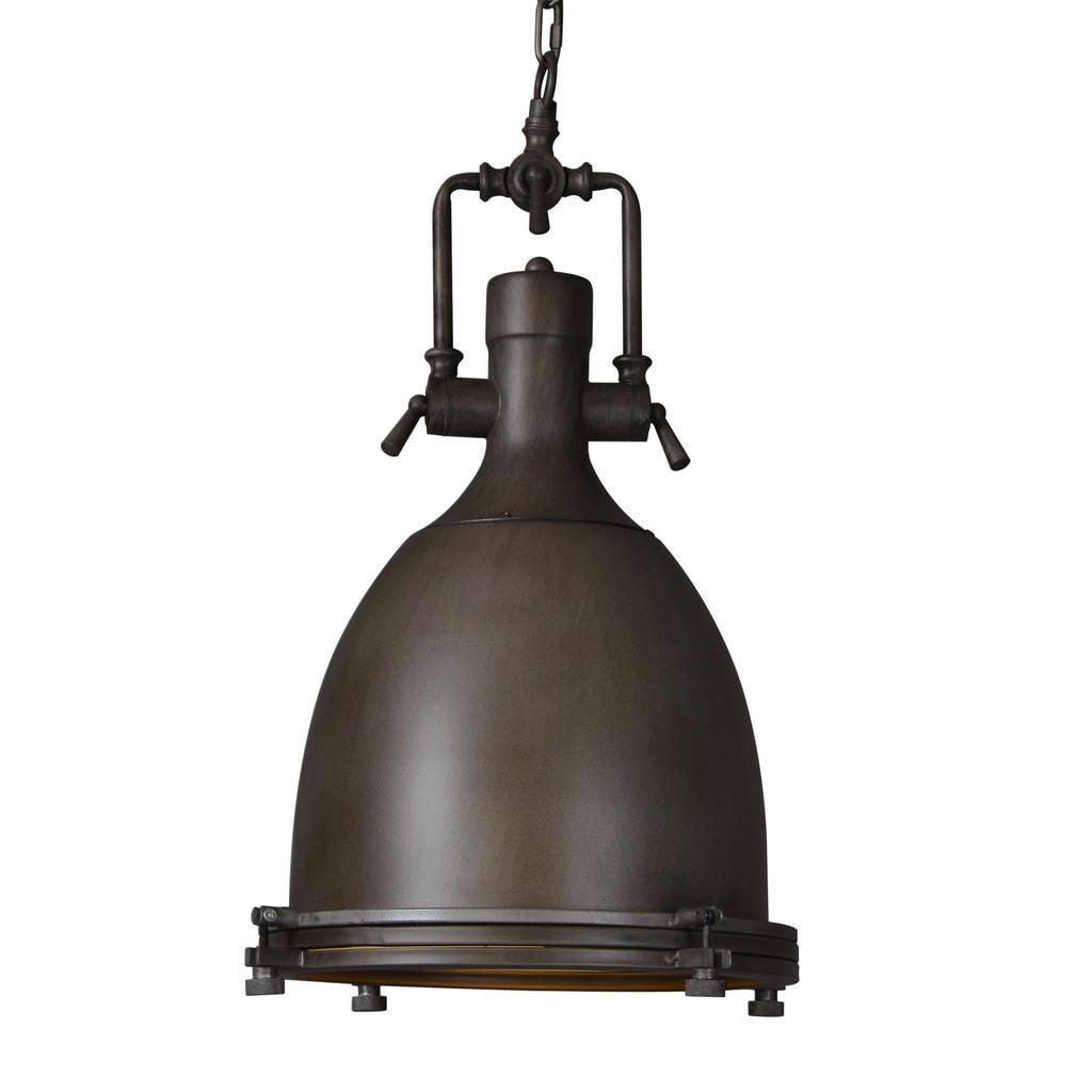 Industrial Lighting Lighting Rustic Light Steampunk: Black Dome Rustic Aged Iron Steampunk Vintage Industrial