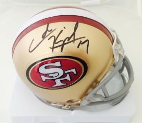 Colin Kaepernick Autographed San Francisco 49ers Signed Mini Helmet