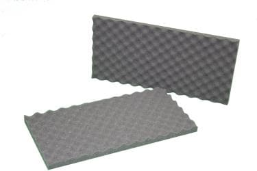 Acoustic Convoluted Eggcrate Soundproofing Foam Wall Tile