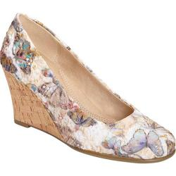 Women's Aerosoles Plum Tree Bone Multi Fabric